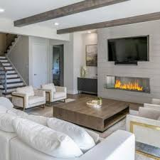 Interior design living room ideas contemporary Furniture Example Of Huge Minimalist Open Concept Medium Tone Wood Floor And Brown Floor Living Room Houzz 75 Most Popular Modern Living Room Design Ideas For 2019 Stylish