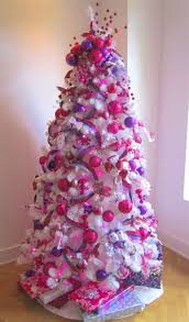 Pink Christmas Tree Decorations Splendid Pink Christmas Tree Decorations  Enticing Appearance Floral Itok Saz