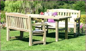 small garden bench outdoor and seat pads tree farmers round tables metal uk ga