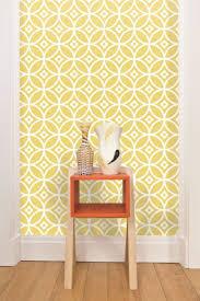 GEOMETRICALLY- Daisy Chain geometric #wallpaper design by Layla Faye.