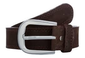 exotique men s brown casual leather belt