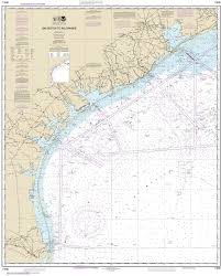 Mexico Navigation Charts 11300 Galveston To Rio Grande Gulf Of Mexico Nautical Chart