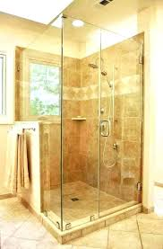 Walk in shower with half wall Shower Enclosure Glass Shower Surround Walk In With Half Wall And Tub Nightowlstudio Glass Shower Surround Walk In With Half Wall And Tub Nightowlstudio