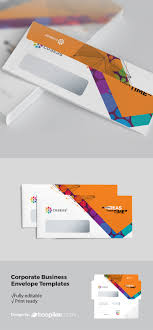 Freepiker Creative Corporate Dl Envelope With Abstract Background