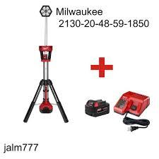 Milwaukee Tool M18 Trueview Led Stand Light Milwaukee M18 Lithium Ion Cordless Trueview Led Stand Light