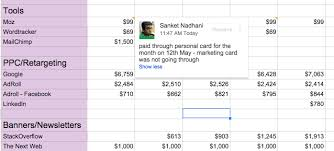 Easy Expense Tracker Marketing Expense Tracker For Startups Sanket Nadhani Medium