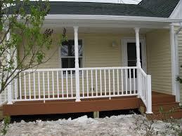 wood front porch railing karenefoley porch and chimney ever