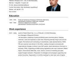 German Cv Template Doc - Beni.algebra-Inc.co
