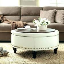 cushioned coffee table. Cushioned Ottoman Coffee Table With Shelf Underneath Medium Size . H