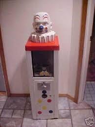 25 Cent Vending Machine Adorable Vintage Toy Vending Machine 48 Cent With Clown Head 48
