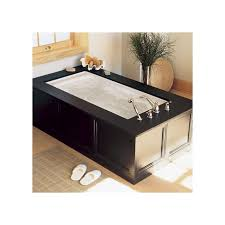 american standard 7236 068c 222 linen evolution 72 acrylic air bathtub with reversible drain heated air blower everclean technology and deep soak drain