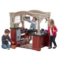 lifestyle deluxe kitchen kids play kitchen step2 step2 grand walk in kitchen and grill