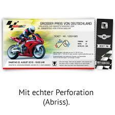 Geburtstagseinladungen Als Ticket Zum Motorrad Rennen