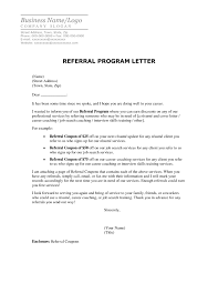 Cool Cover Letter Referred By Employee Referral Cover Letter Sample