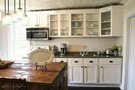 Painting Laminate Cabinets Interior 1980 Kitchen Cabinets Makeover Paint Melamine Cabinets