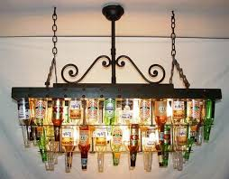 is made out of 52 bottles held in place by a steel rivet top band it s so cool it leaves us schless though maybe that s just the effect of all