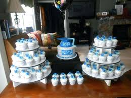 Graduation Cupcake Cake Ideas Cups Grad Party Best Cakes Ideas For