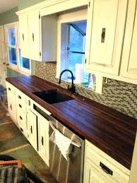 how to replace kitchen countertops replace kitchen counter built a pair of black walnut butcher block how to replace kitchen countertops