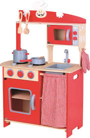 pretend kitchen lelin wooden childrens pretend play modern
