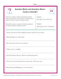Punctuation Marks Worksheet Free Printable Worksheets Made By