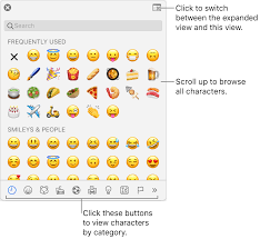 Korean Characters Chart Use Accents And Special Characters In Keynote On Mac Apple