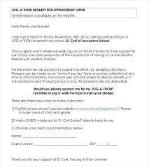 45+ Sponsorship Letter Templates - Pdf, Doc | Free & Premium Templates