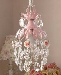 pink crystal chandelier pink mini chandelier