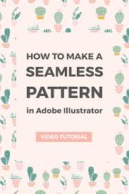 How To Make Pattern In Illustrator Inspiration How To Create A Seamless Pattern In Illustrator Elan Creative Co