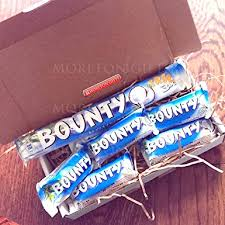 bounty treat box lovely coconut coated with yummy chocolate by moreton gifts
