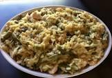 amazing wild rice   mushroom chicken bake