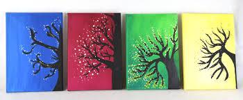 four seasons and ballerina canvas