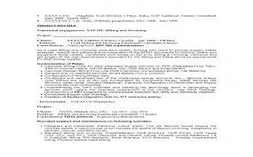 Sap Security Consultant Resume Samples New Sap Mm Resume Samples