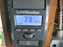 liftmaster wired garage door smart control panel