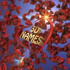 3d name style
