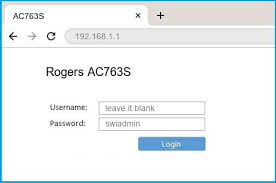 Routers do not need to be installed, they simply need to be connected. 192 168 1 1 Rogers Ac763s Router Login And Password
