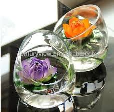 Glass Decorative Bowls And Vases Wholesale Decorative Flower Vase Round Glass Bowl Vase Buy Round 2