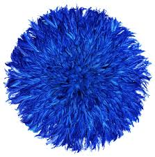 royal blue juju hat decor
