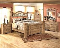 natural wood bedroom set