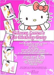 Hello Kitty Invitation Printable Hello Kitty Printable Birthday Invitations Hello Kitty Printable