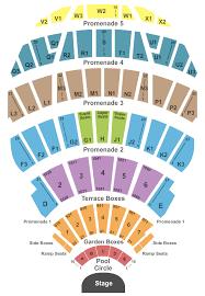 Hollywood Bowl Seating Chart Hollywood