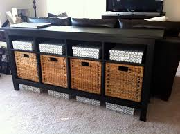 black console table with storage. Black Sofa Table With Storage Video And Photos Madlonsbigbear Com Within Designs 8 Console
