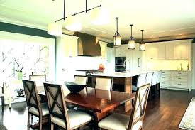 hanging lights over dining table height to hang light above lamp pendant lighting modern two amusing