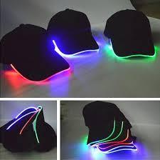 Quality Designer Led Light Hat Adults Party Luminous Sports Baseball