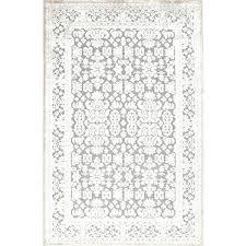 jaipur fables regal rug gray machine made rectangle silk