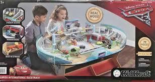 kidkraft disney pixar cars 3 florida sdway train table racetrack com
