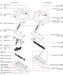 vacuum parts on line with diagrams to show you which replacement parts are and then what the part number is brilliant dyson dc14