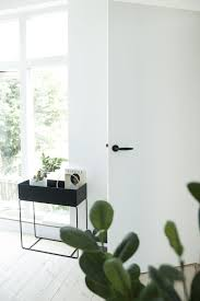 Via April and May   Ferm Living Plant Stand   Black and White