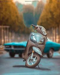 scooty bike cb editing background full