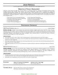 Unusual Marketing Resume Pdf Resume Examples Templates Easy Format