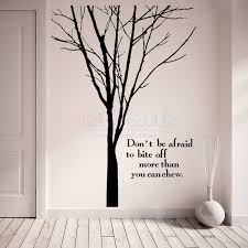 Tree Quotes Best Words And Quotes Winter Tree Wall Decal Large